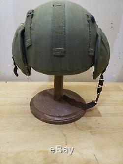 WWII / WW2 M4A2 Anti Flak Bomber Crew Army/ Air Corps Helmet