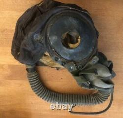 WWII WW2 USAAF Army Air Force Demand Oxygen Mask Type A-14 WithHeadgear