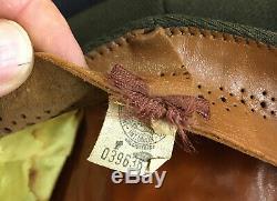 WWII original USAAF Army Air Forces true Crusher uniform hat cap