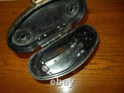 WW II German Army Air Force DAK 6x30 ddx TAN BINOCULARS & CASE VERY NICE