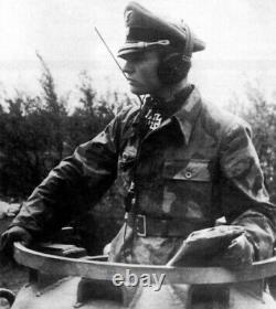 WW II German Army Air Force Dfh. B Kopfhörer PANZER HEADSET 1945 RARE
