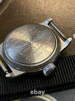 Waltham Elgin Military A-11 US Army Air Force WW2 1940's Vintage watch coin edge