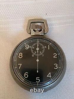 Waltham WWII US Army Air Corp Stop Watch A-8 Navigation Watch Ground Speed