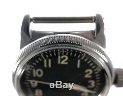 World War II Era Elgin Type A-11 US Army Air Forces Wrist Watch 539 16 Jewels