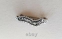World War II WW2 Caterpillar Club Pin US Army Air Corps Parachute Sterling