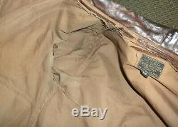World war 2 air force army type A-2 leather flight jacket air corp