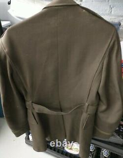 Ww2 1943 Us Army Air Corps Officers Jacket/tunic Small