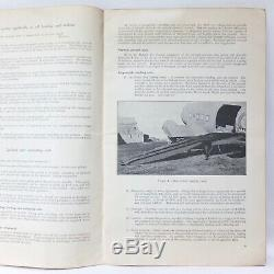 Ww2 1945 C-47 Dakota Air Transport Aircraft Manual Army Gliders Horsa Arnhem