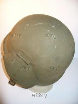 Ww2 M3 Helmet Wwii Flak Bomber Chinstrap Liner Webbing Army Nice Air Corps Force