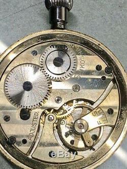 Ww2 Seikosha Imperial Japanese Army Air Corps Stopwatch Rare Dial Working $1