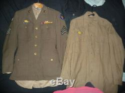 Ww2 U. S. Army Air Corp Pto Uniform Complete