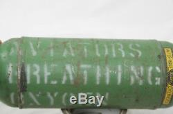 Ww2 Us Army Air Corps Bailout Oxygen Bottle