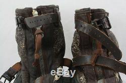 Ww2 Us Army Air Corps Type A1 High Altitude Cold Weather Boots Sz 12-13