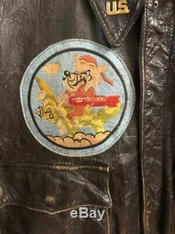 Ww. 2 Army Air Corp A-2 Jacket-vet Pick Up