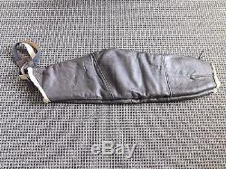 Ww II Usaf Army Air Force Leather Sheep Lined Bomber Pants 43-13614-af 94-3084a