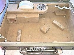 Wwii 1942 Us Army Air Corps Link Bubble Sextant A 12