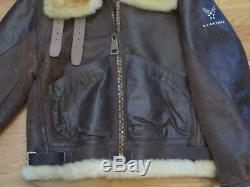 Wwii B-3 Us Army Air Force Bomber Jacket. High Quality Reproduction. Size 40