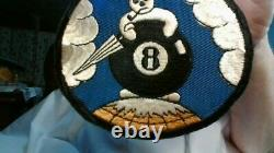 Wwii U. S. Army Air Force 8th Weather Squadron Patch, Greenland, Iceland, Rare