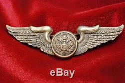 Wwii U. S. Army Air Force Air Crew Wing British Made