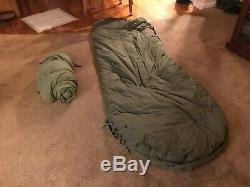Wwii Us Army Air Force Arctic Sleeping Bag A-3 With Full System