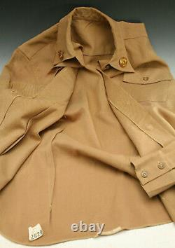 Wwii Wac Us Army Woman's Air Corp Shirt Insignia Un Messed With