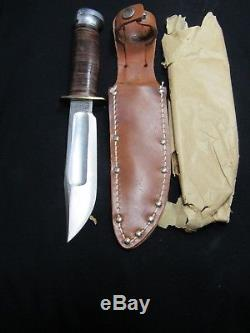 Wwii Ww2 Camillus Aac Army Air Corps Fighting Knife New In Wrap Mint